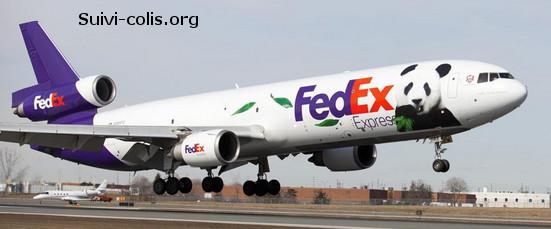 livraison avion fedex