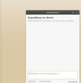 chat en ligne expedeasy