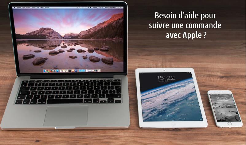 Suivi de commande Apple
