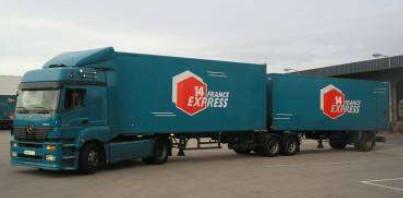 livraison camion france express