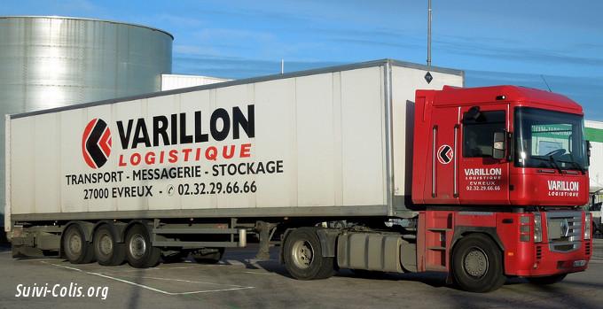 Varillon Logistique suivi