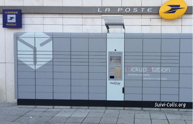 Livraison en Pick Ups Station de La Poste