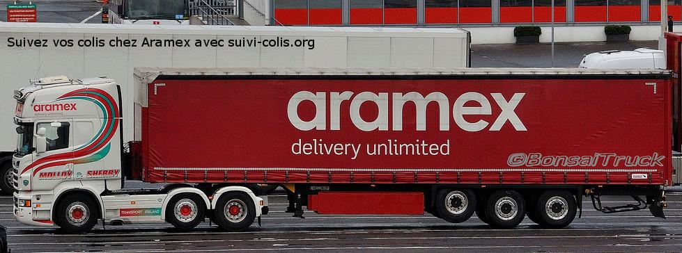 camion livraison aramex